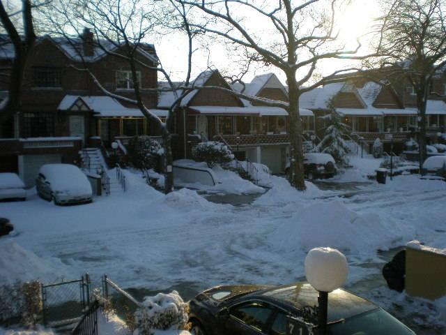 winter in brooklyn, selling my home in  Brooklyn