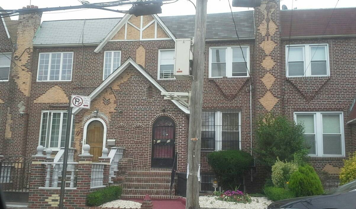 Attached brick home in Flatlands  Old Mill Basin Brooklyn