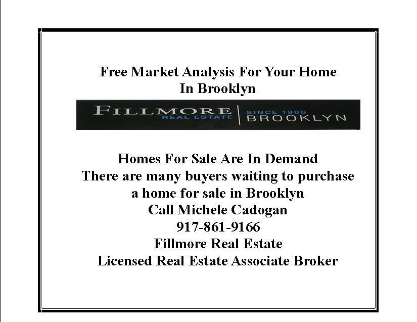 free market analysis for your home in brooklyn, real estate agents in brooklyn