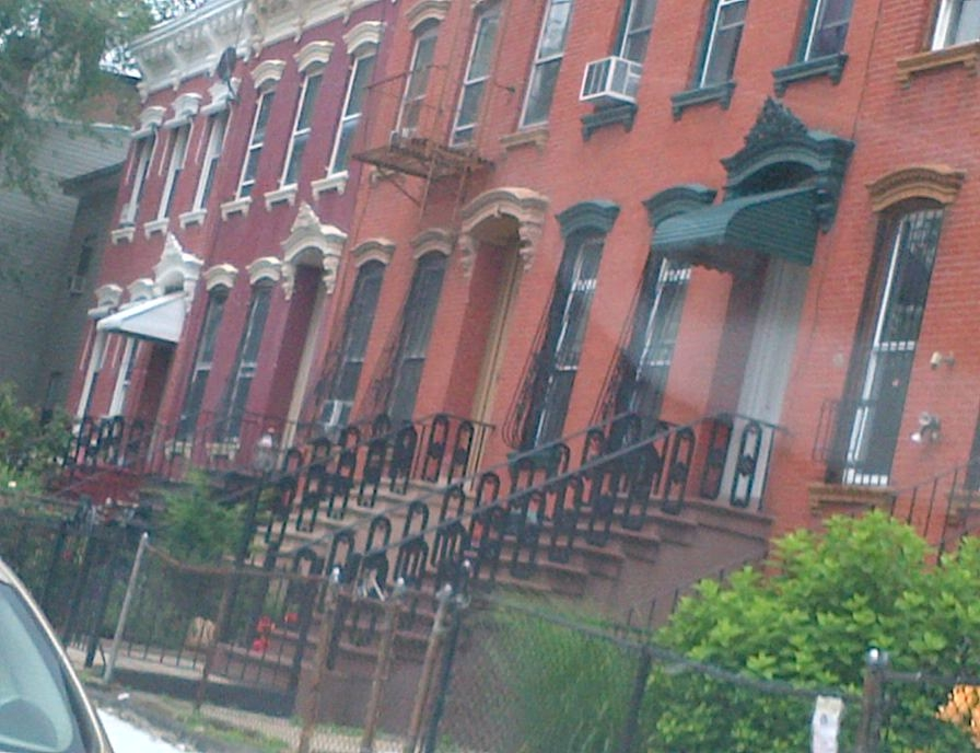 attached row houses in brooklyn