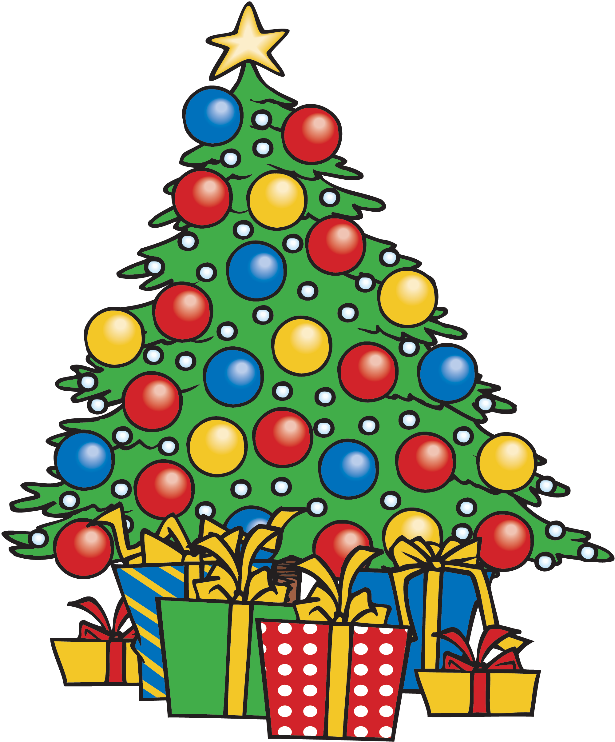 Presents Under The Christmas Tree: Merry Christmas To One And All