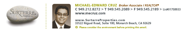 Michael-Edward Cruz Broker Realtor