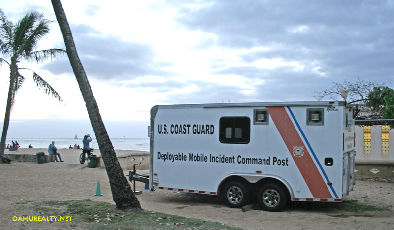 coast guard kaimana beach