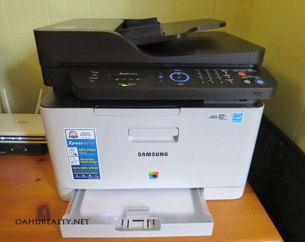 a color laser printer for your home office. Black Bedroom Furniture Sets. Home Design Ideas