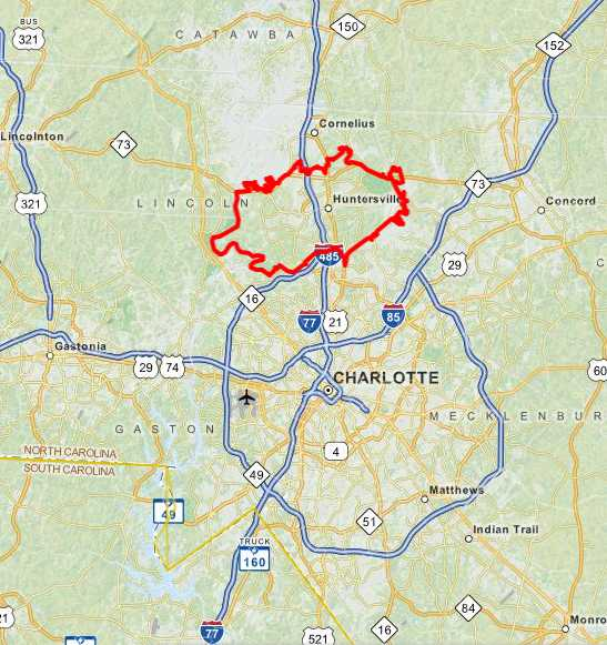 Homes for Sale in Huntersville - Charlotte NC Zip Code on
