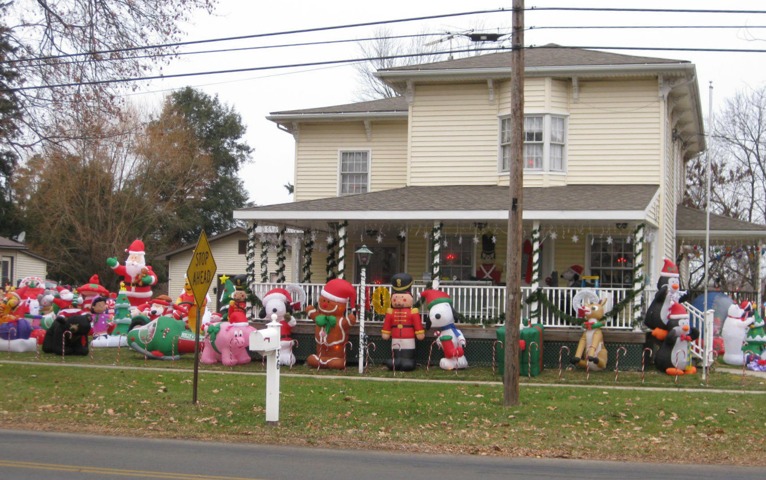 Christmas House Village of Berlin Heights, OH