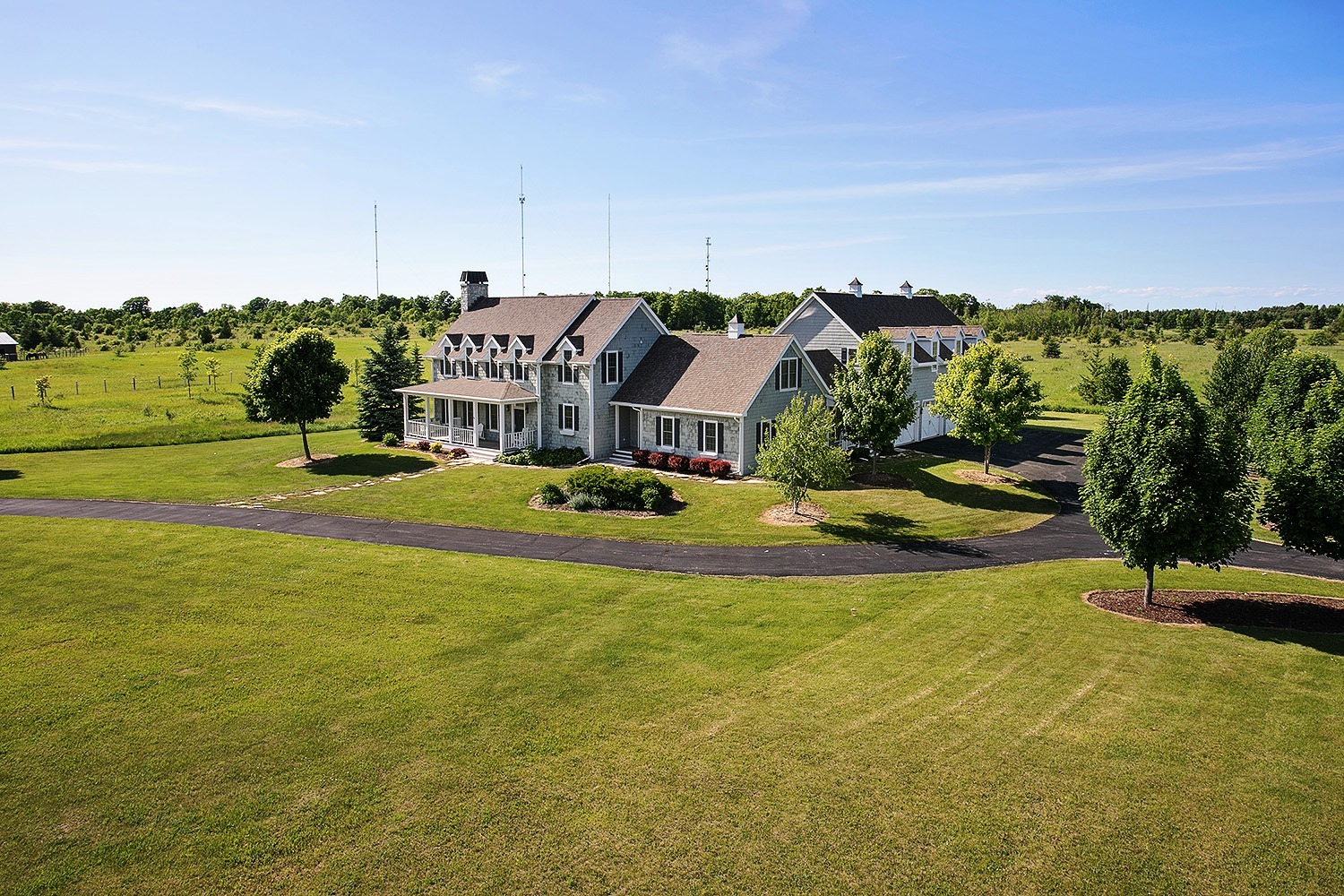 4 Bedroom Country Home For Sale In Door County Wi