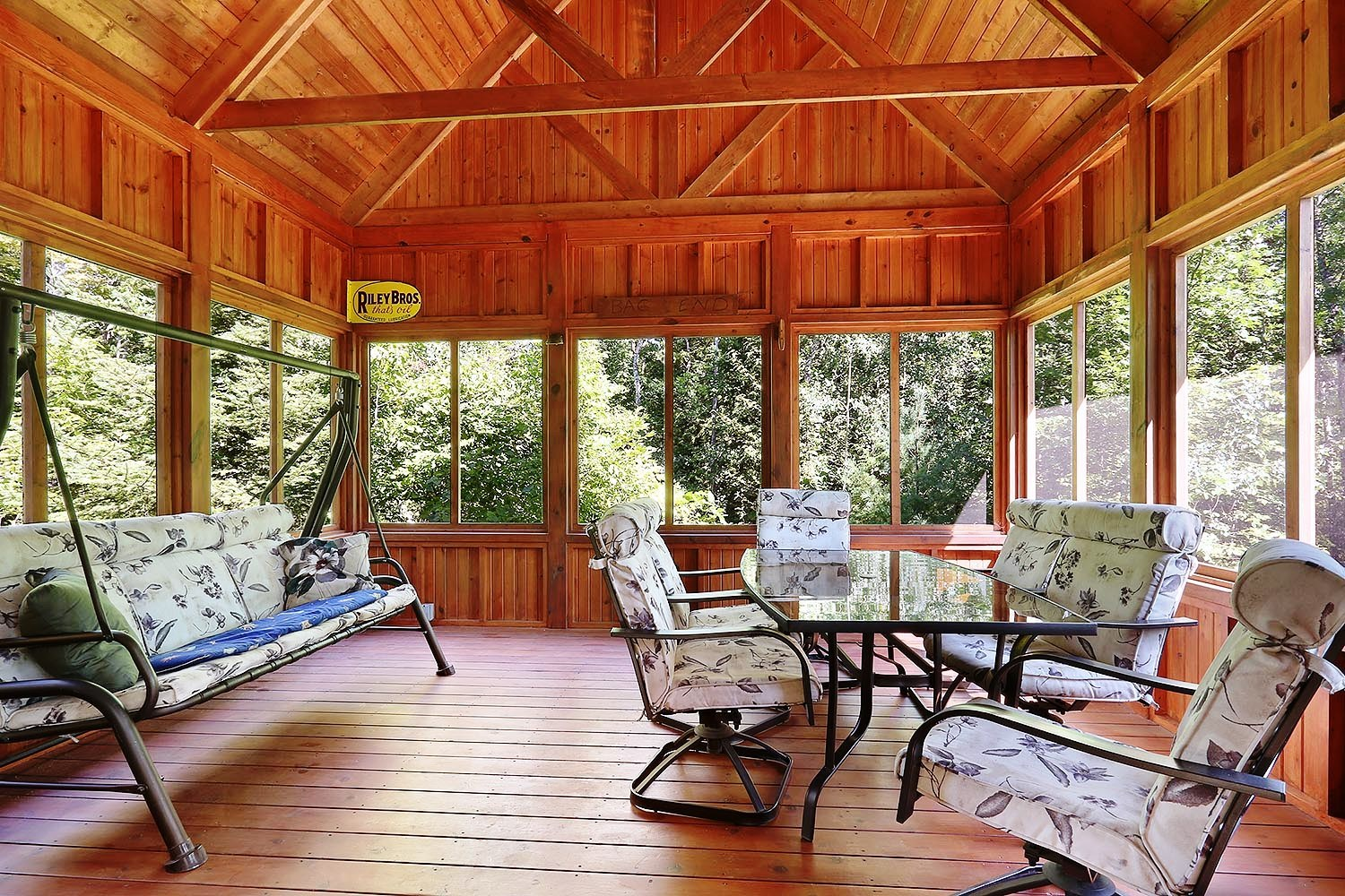 Homes for Sale with Screen Porches on the Lake