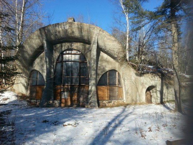 Door County S Hobbit House A K A The Mushroom House