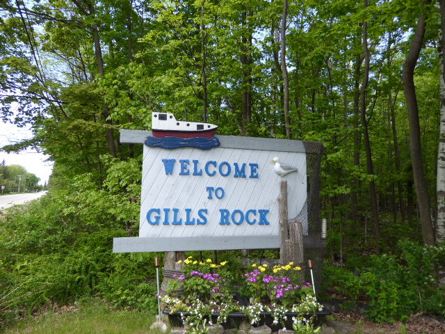 Welcome to Gills Rock