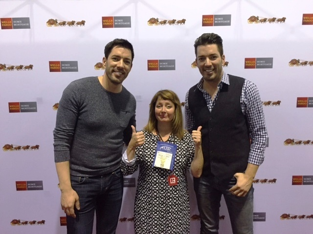 MaryKay Shumway and The Property Brothers