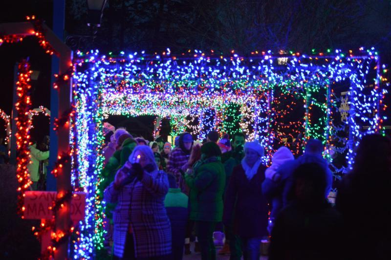 Sister Bay Festival of Lights Capture the Spirit