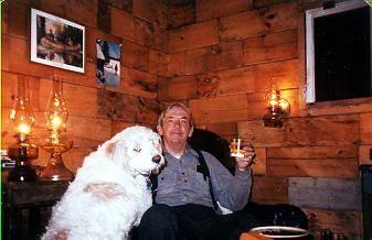 maine dog camp owner photo