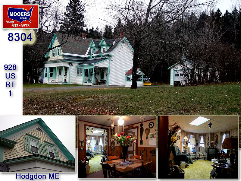 Homes For Sale Hodgdon Maine