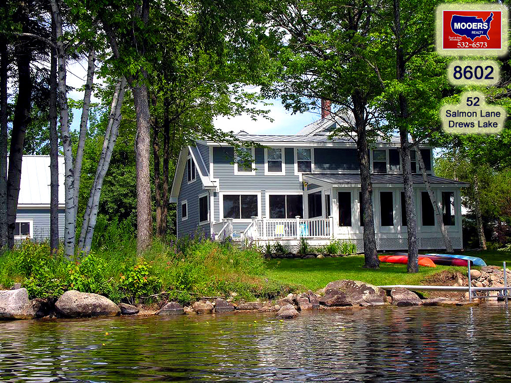 lake home in maine for sale photo