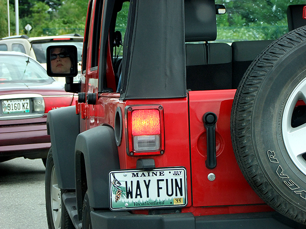 jeep in maine photo