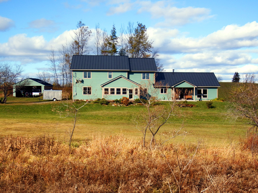 ludlow maine land for sale with two homes photo
