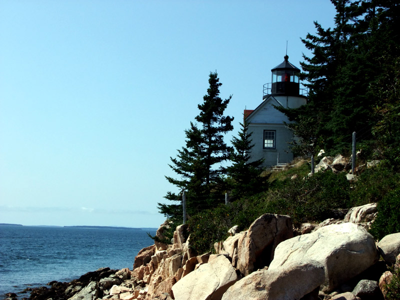 bass harbor lighthouse in maine photo