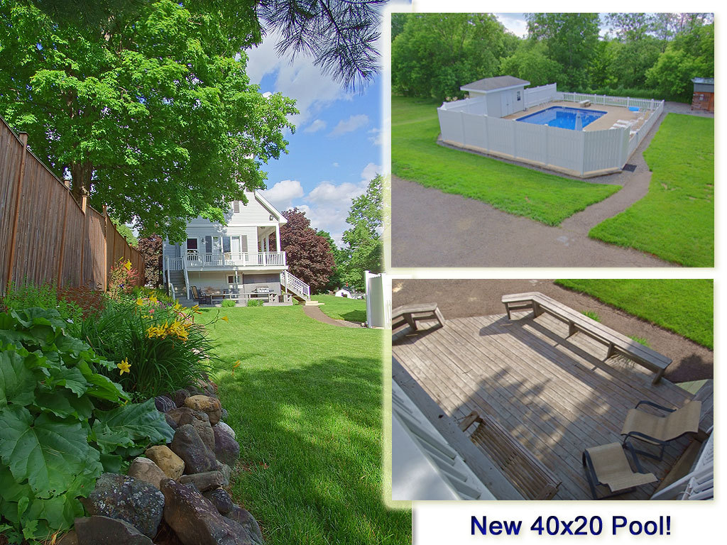 home with pool for sale photo