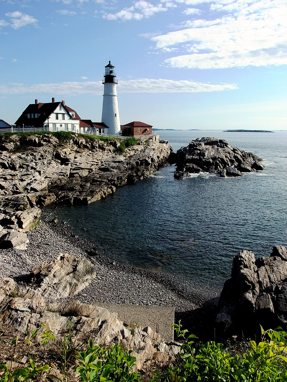 maine lighthouse cape elizabeth me photo