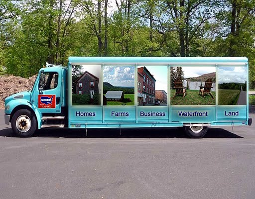 maine real estate vending truck photo