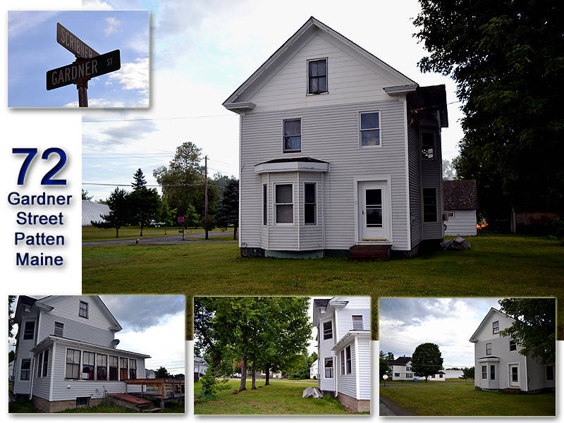 The Home In Maine For Sale Sits On A Town Of Patten Cor