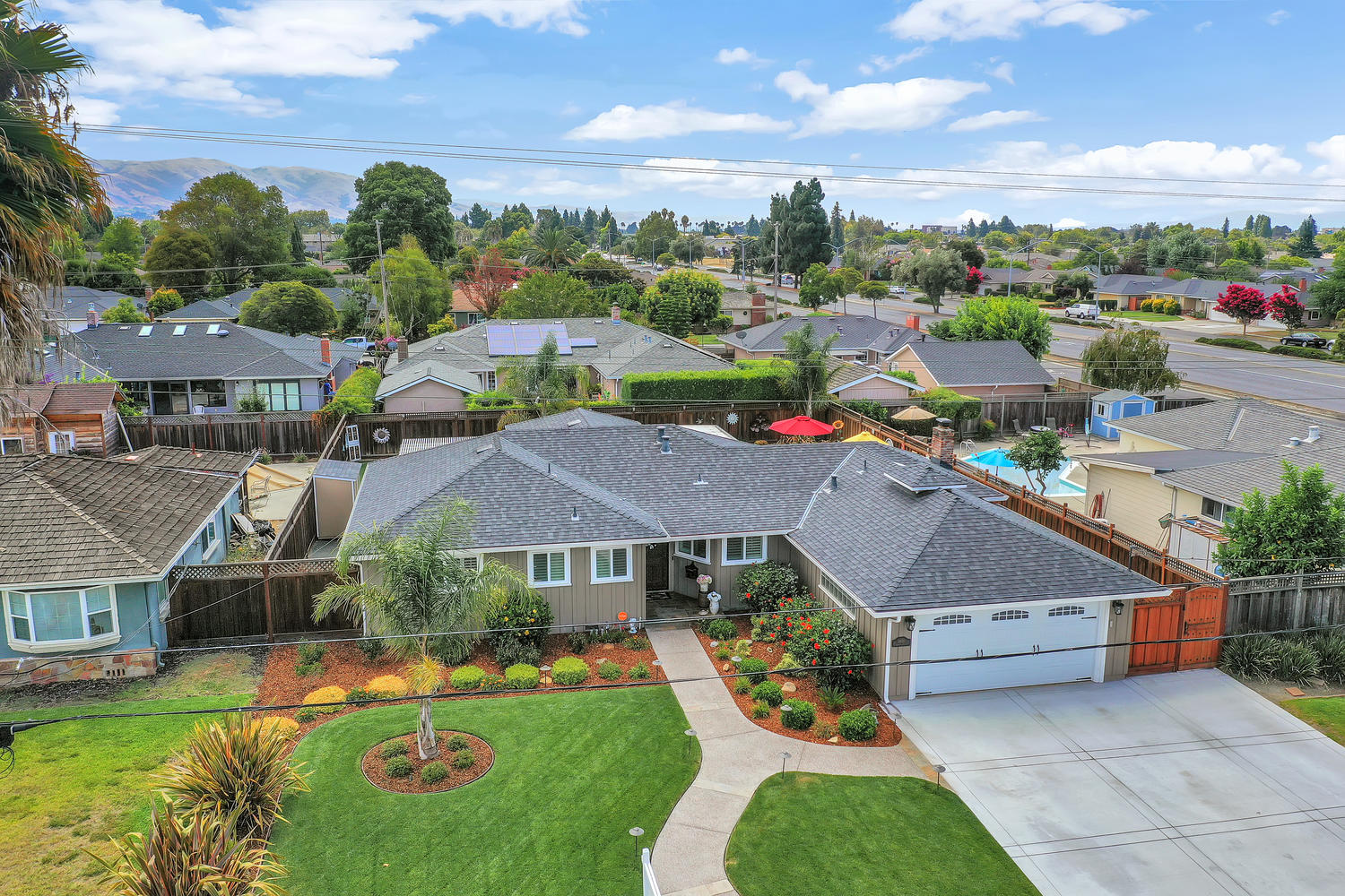4970 Eggers Dr Fremont CA-Aerial View