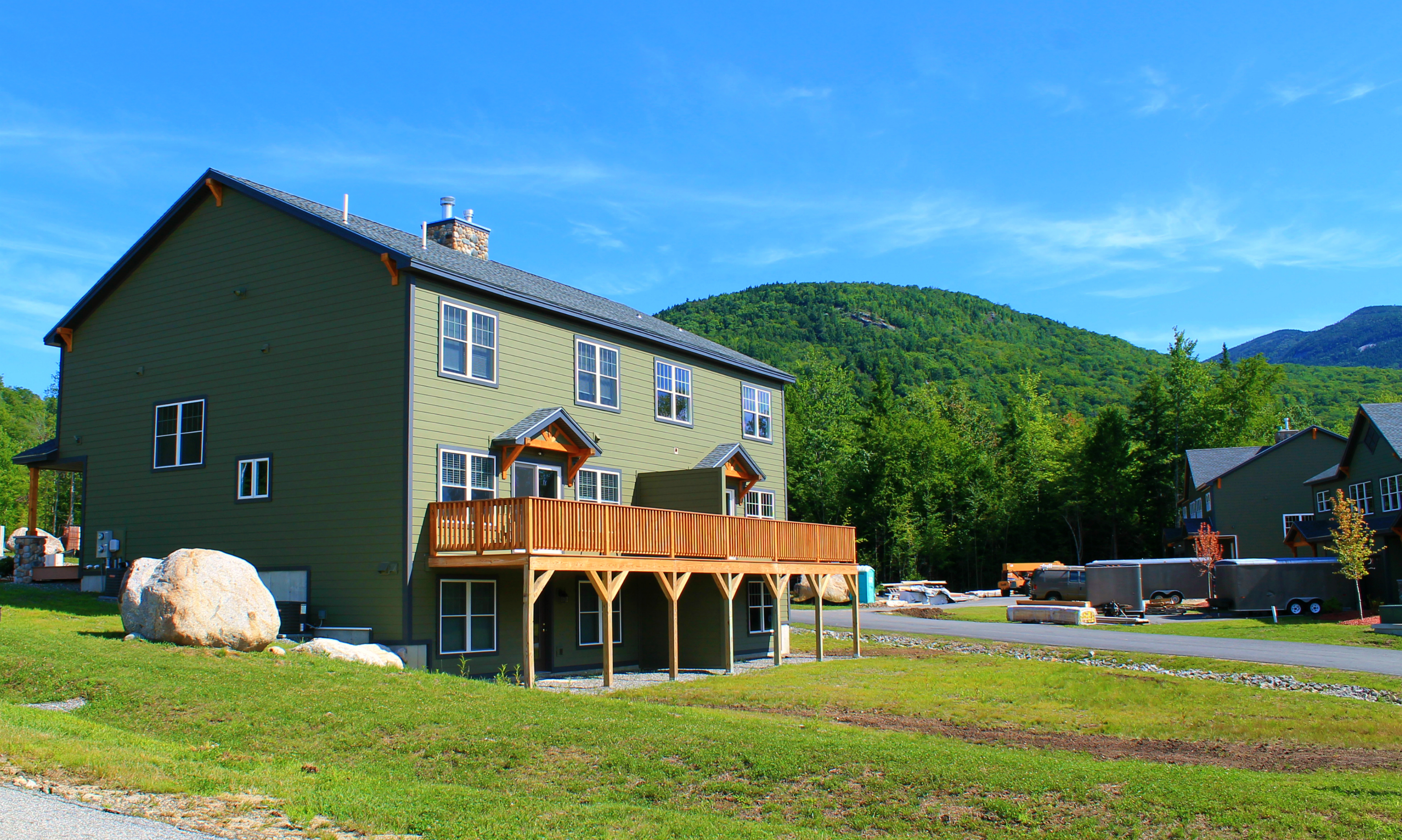 New Hampshire New Construction Townhouses At Loon Moun