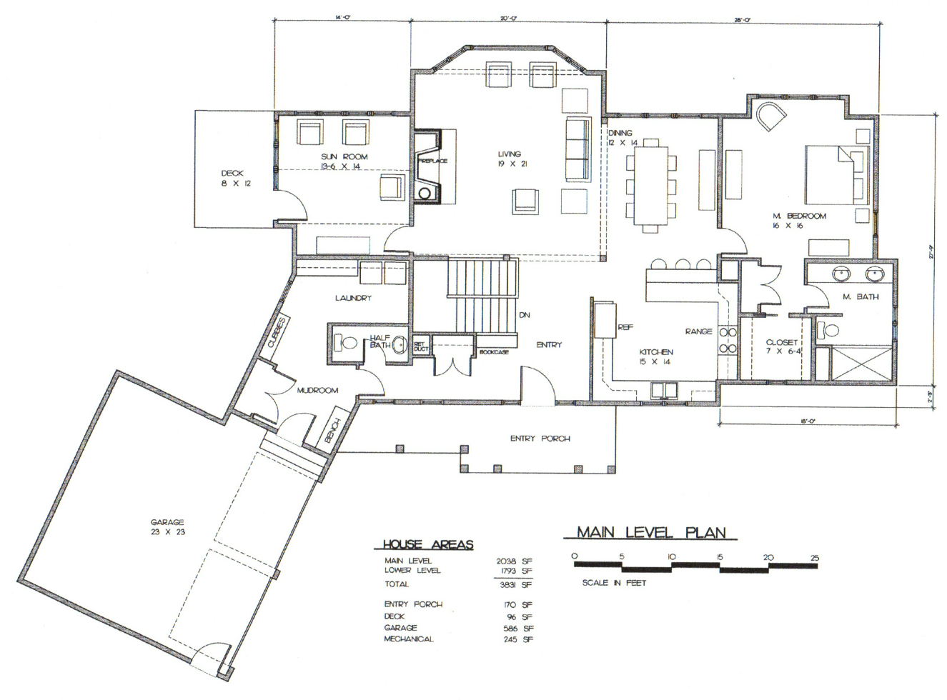 Slope Side House Plans House Plans