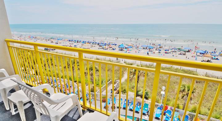 Oceanfront Views from Baywatch Resort Balcony