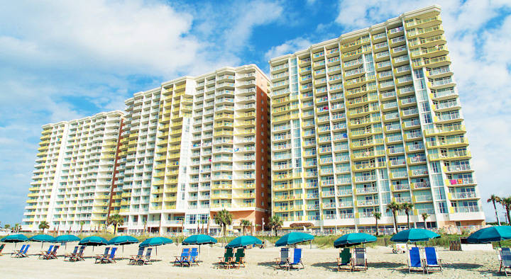 Baywatch Resort In North Myrtle Beach