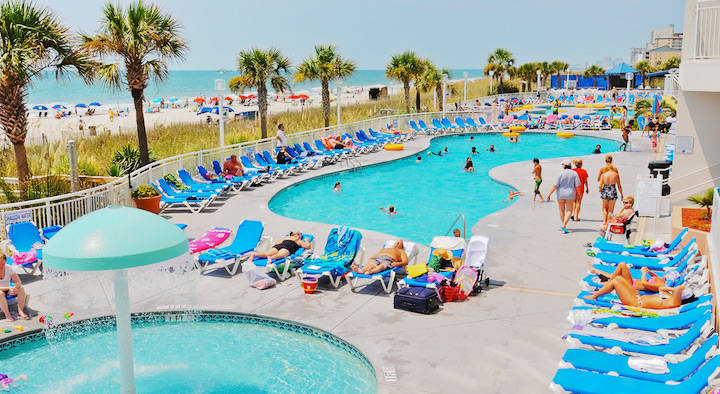 Pools at Baywatch Resort