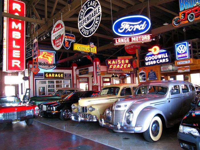 Classic Beauties At Vintage Reserve Garage In Lodi