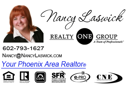 Nancy Laswick Phoenix and Scottsdale Area Realtor