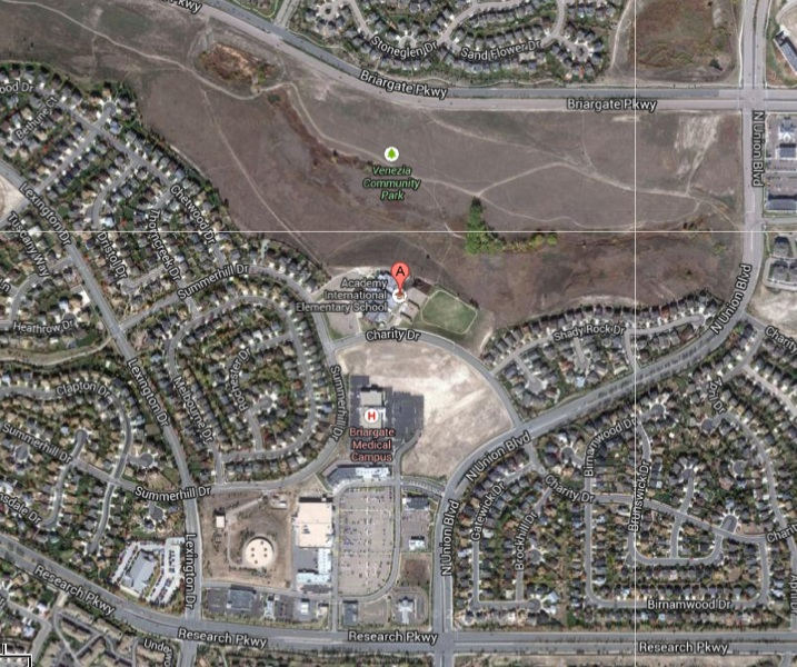 homes for sale near academy international elementary colorado springs