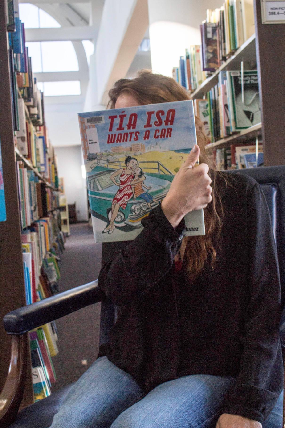 Juanita reading