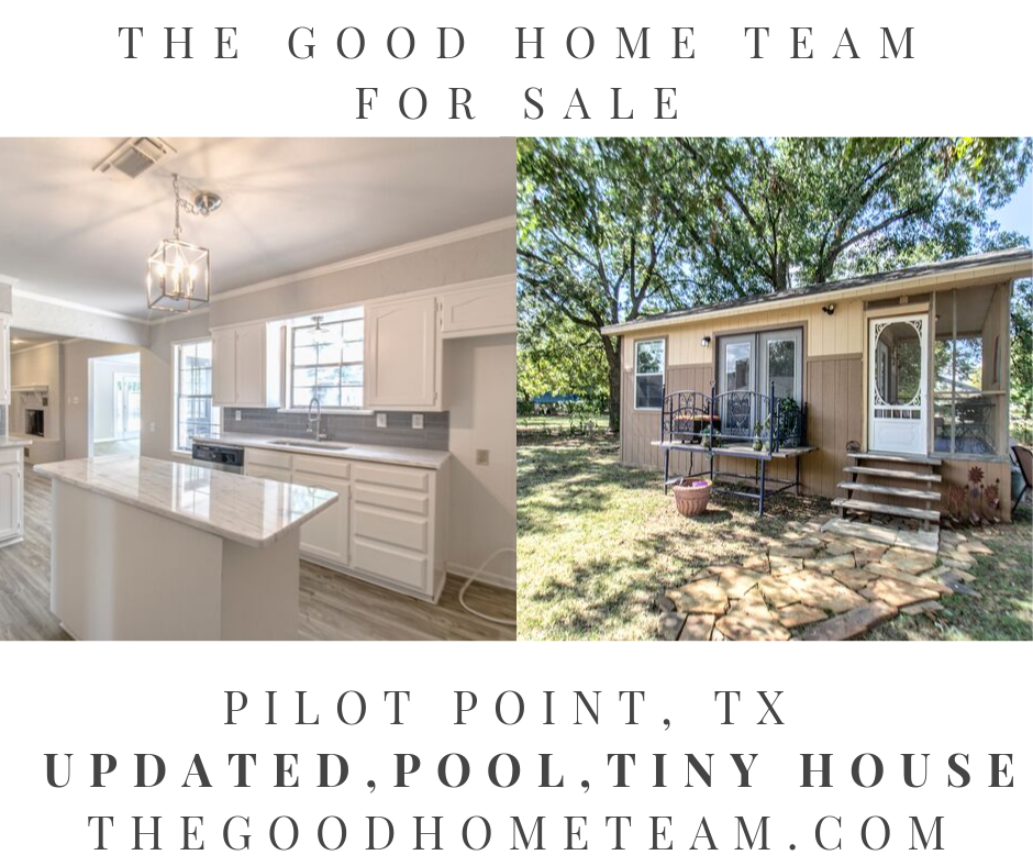 homes for sale in pilot point tx