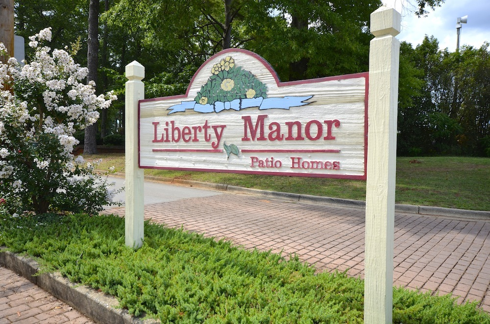 Liberty Manor Entrance