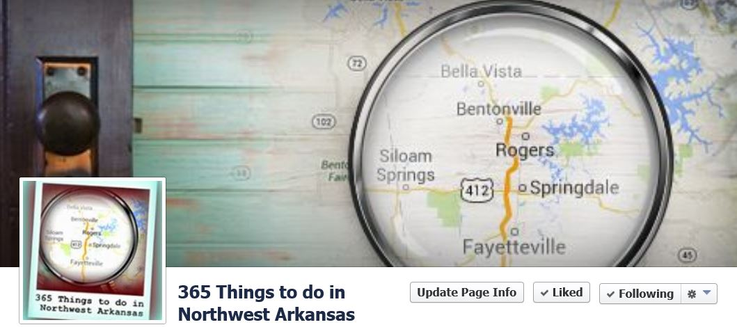 365 Things to do in Northwest Arkansas