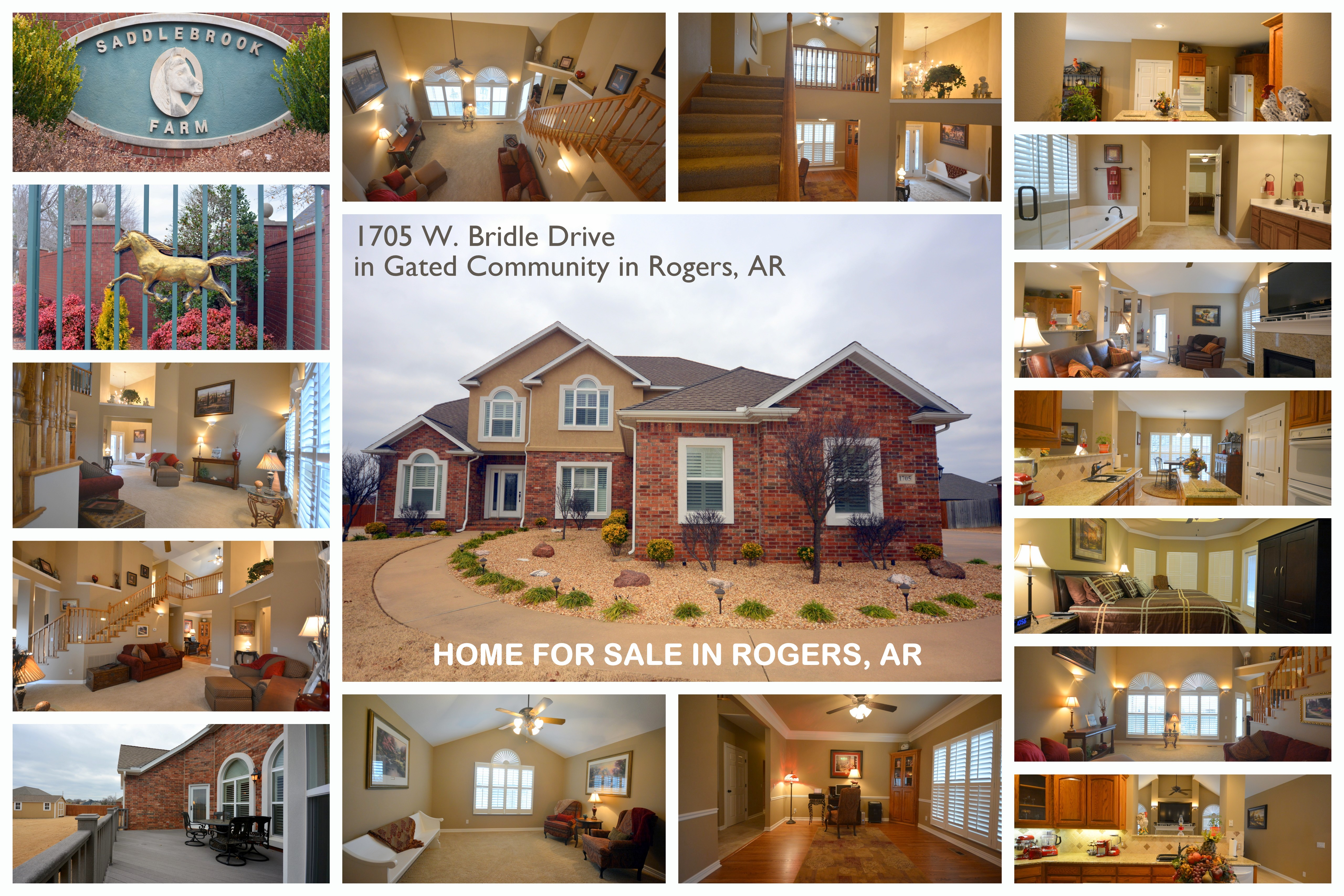 1705 Bridle Drive in Rogers, AR