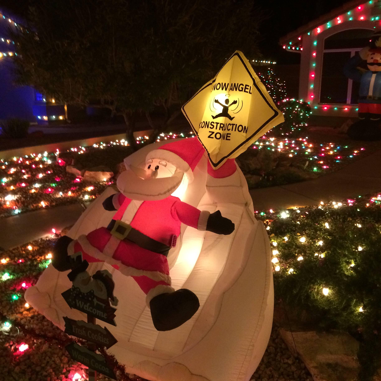 Cherry Lane Christmas Lights Mesa Arizona