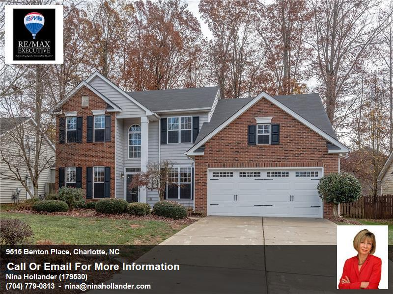 9515 Benton Place In Charlotte's Ballantyne Area For Rent