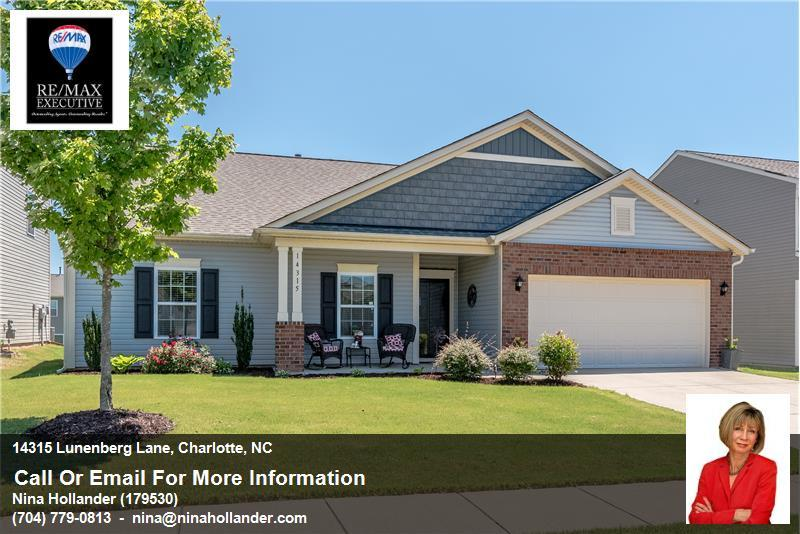 14315 Lunenberg Lane In Charlotte, NC For Sale