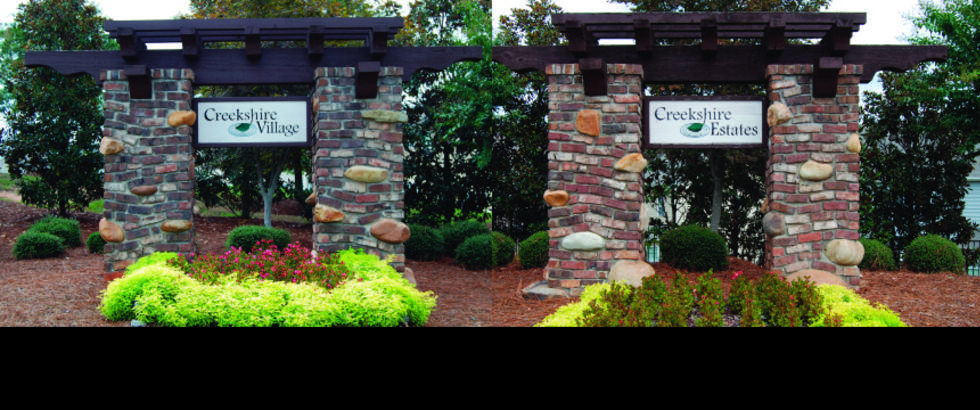 Creekshire Village and Estates In southwest Charlotte, NC