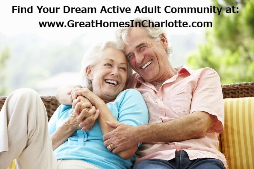 Find Your Dream Active Adult Community Home In Charlotte Region