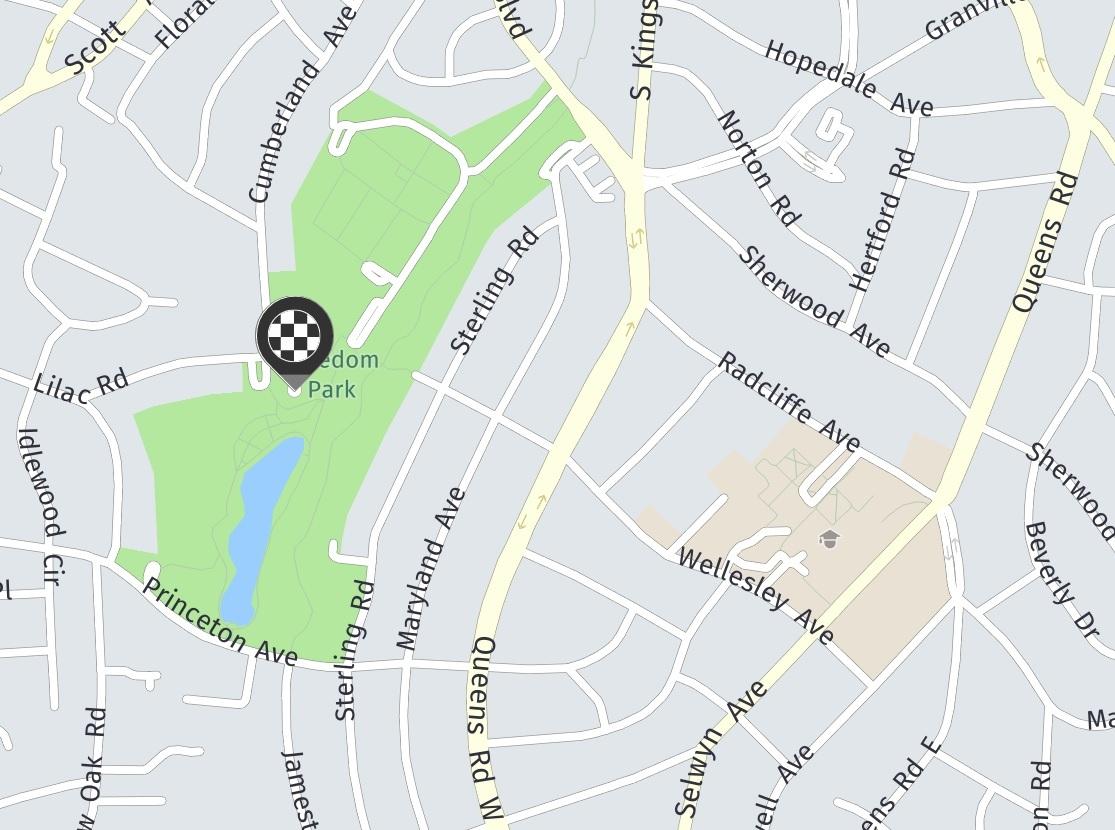Freedom Park Charlotte Nc Map.Charlotte Weenie Walk On Saturday March 31st