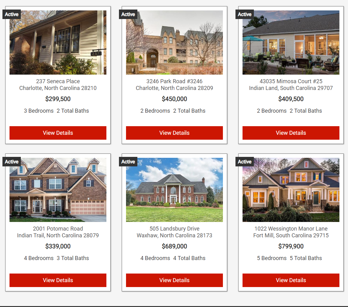 Search Charlotte Homes For Sale