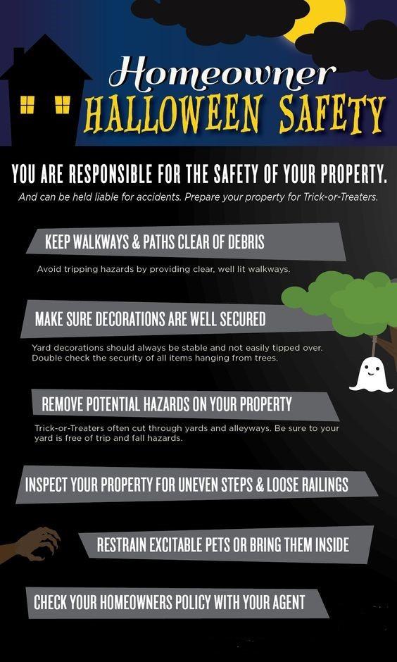 Halloween Homeowner Tips
