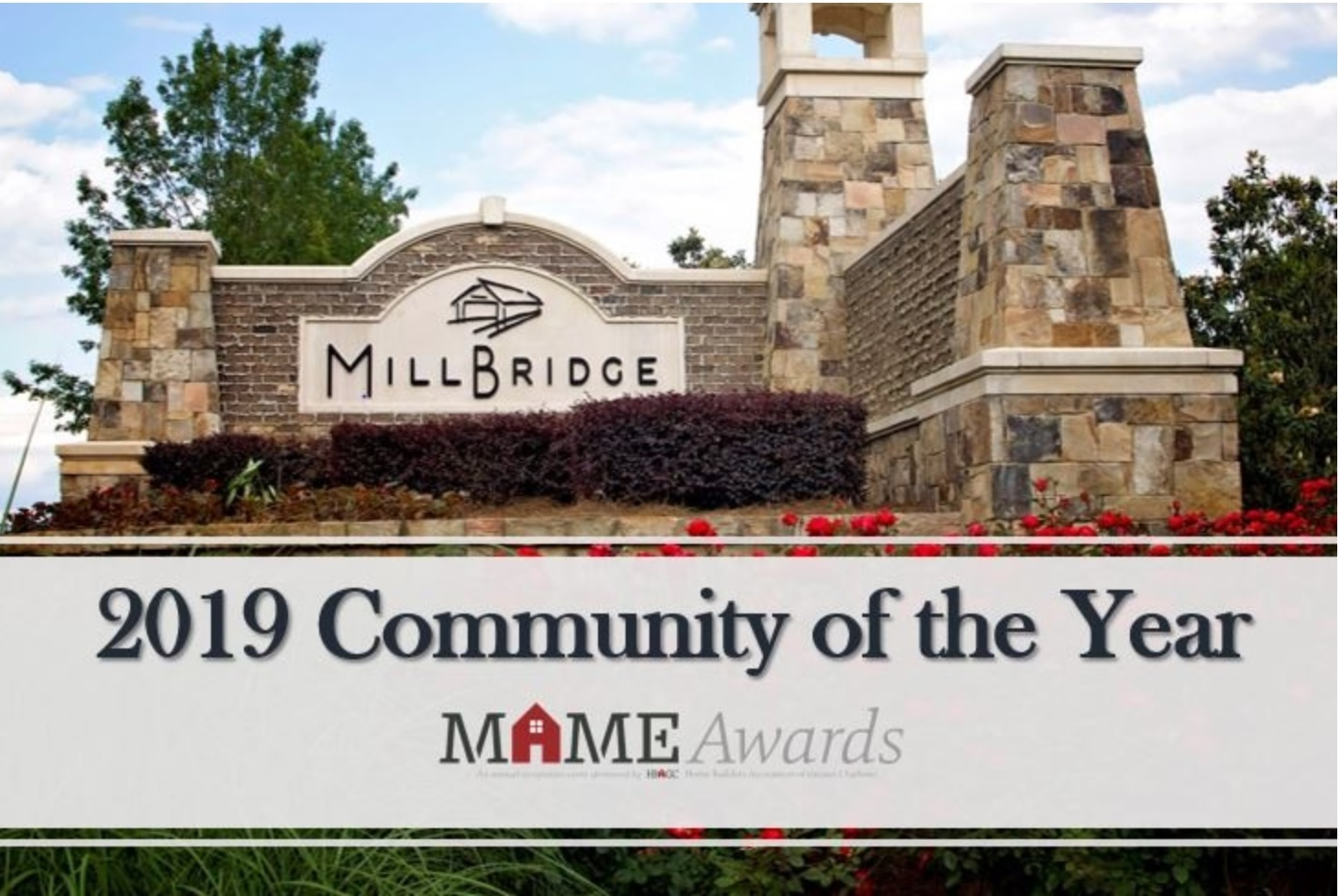 Millbridge In Waxhaw Community of The Year