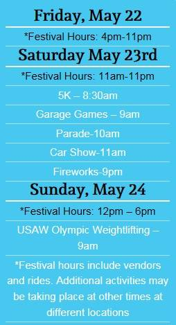 mint hill madness 2015 schedule of events